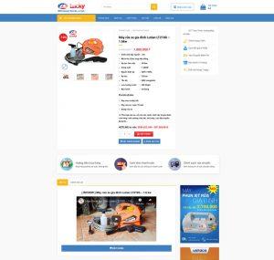 website-ban-hang-thiet-bi-rua-xe-lucky-san-pham